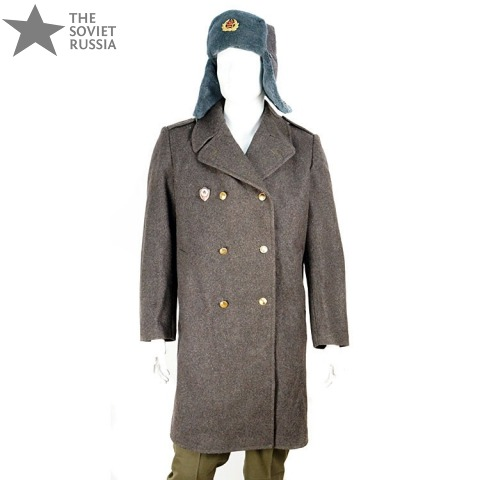 Russian Military Trench Coat