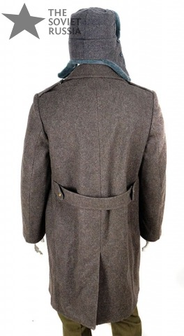 Russian Soviet Army Soldiers Mens Uniform Trench Coat