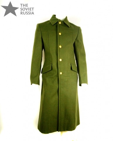 New Russian Military Uniform Great-Coat Officers Winter | The ...
