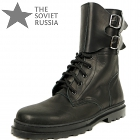 Russian Military Army Soldier Uniform Boots Double Buckle