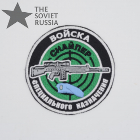 Spetsnaz Sniper Patch Blue Beret
