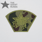 Russian MVD Fighting Unit Spetsnaz Sleeve Patch Camo Dubok
