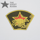 Russian Fighting Unit Spetsnaz Patch Camo Berezka Yellow
