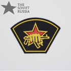 Russian MVD Fighting Unit Spetsnaz Sleeve Patch Black