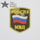 Interior Ministry Sleeve Patch Camo Berezka Yellow