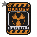 Radiation Restricted Area Danger Patch