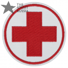 Medical cross military airsoft patch