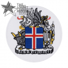 Iceland Patch Coat of arms