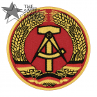 East Germany Patch National emblem