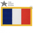 Flag of France French Tricolor Patch