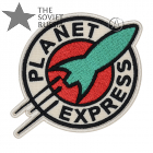 Planet Express Futurama Spaceship Logo Patch