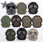 Gas Mask Small Patches Set 10 pcs