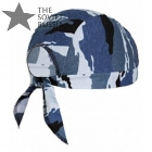 Russian Spetsnaz Bandana Hat Shadow Camo Skull Cap With Ties