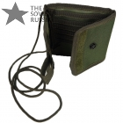 Russian Chest Bag Pocket Pouch for Documents Olive
