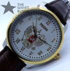 "Russian wrist watch ""RUSSIA"" with double-headed eagle ""North"""