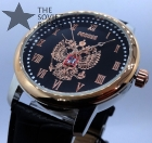 "Russian wrist watch ""RUSSIA"" with double-headed eagle ""North"" #2"