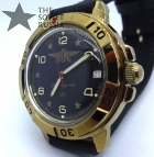 Russian army Vostok wrist watch. watertight.mechanical. 17 jewels. Commander