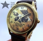 "Rare wrist watch Slava ""Weapon of Victory"" WW II Katyusha BM-13"
