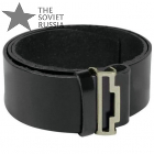 leather belt for buckles russian military
