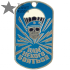 Russian VDV Dog Tag We Have No One To Fear