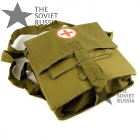 Soviet Military Сorpsman Medic Shoulder Bag Medical WW2