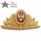 Russian Tax Police Uniform Hat Badge Eagle