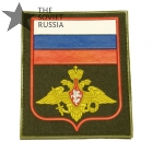 Russian Military Sleeve Patch Flag