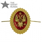 Russian Coat of Arms Eagle Hat Pin Badge