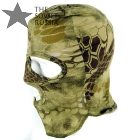 Military Face Mask 3 Hole Balaclava Python Camo