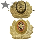Russian Army Military Hat Uniform Badge Standard or Dimmed (olive, field)