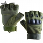 Russian Tactical Half Gloves Rage Olive