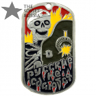 Russians Never Surrender Dog Tag
