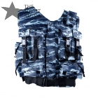 Russian Spetsnaz Tactical Vest Shadow Urban Blue Tiger