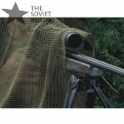 Russian Sniper Veil Scarf Olive OD 190 x 90 cm Made in Russia, Tula