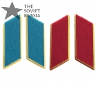 Soviet Russian Army Military Red Army Blue Collar Tabs Airforce VDV Airborne