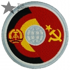 Soviet German Soyuz-31 Space Expedition Patch Embroidered