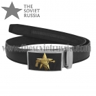 Russian Spetsnaz (Special Forces) Leather Belt with Buckle