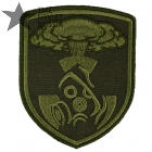 Stalker Nuclear Strike Patch Embroidered Olive