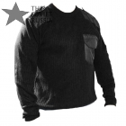 Russian Army Military Sweater Black