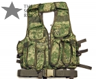 Tarzan M22 Copy Tactical Vest 8 AK Mags Digital Flora Camo EMR