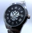 Russian quartz wrist watch Slava double eagle