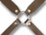 brown leather harness military