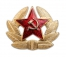 Russian Ushanka badge
