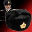 Russian Military Navy Sheepskin Leather Ushanka Fur Hat