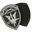 New Russian Spetsnaz Guards Ak, Fist Patch - Black, Velcro
