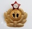 navy ushanka badge